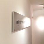 Photo:mirror mirrorのロゴ