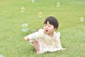 Shico新宿御苑とシャボン玉(NikonD5500)