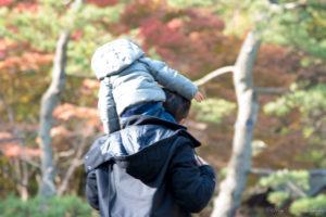 出張撮影:父息子の肩車(Nikon D5500)