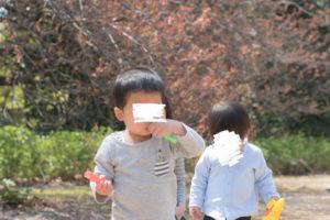 しゃぼん玉と子ども達(Nikon D5500)