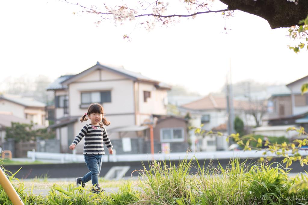 走るShico(Nikon D5500)