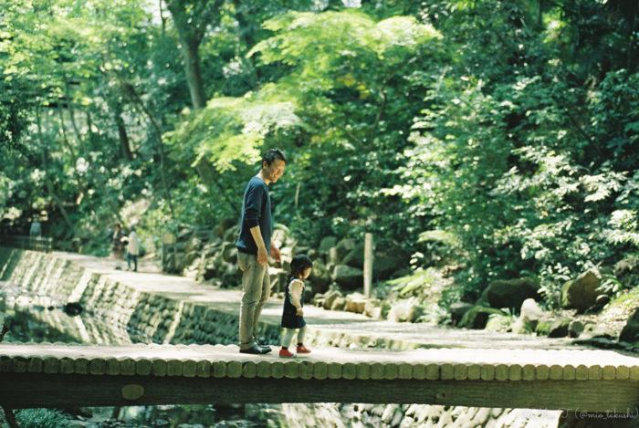 お父さんとShico右向け - Nikon F2