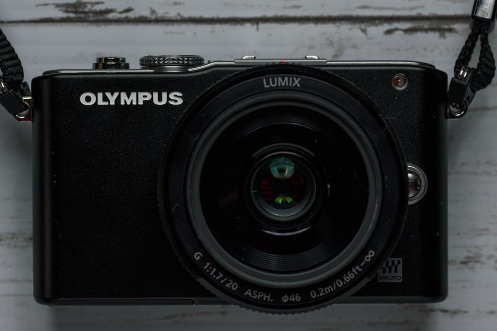 OLYMPUS PEN Lite E-PL3本体