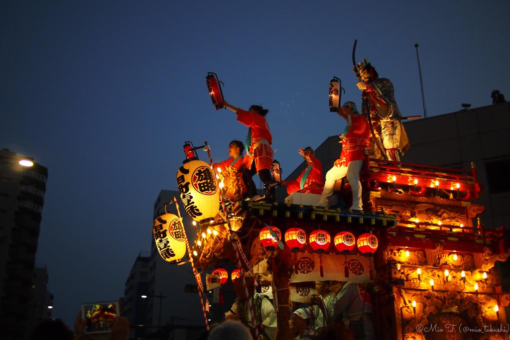 お祭り(山車)