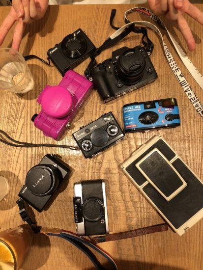 カメラがたくさん