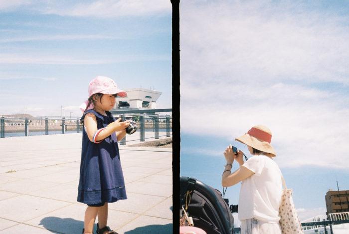 写真を撮る人達(PEN EE-3)