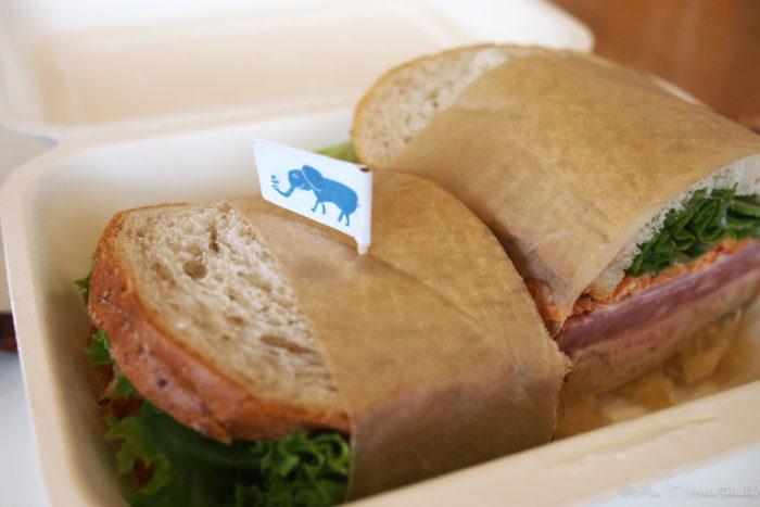 ハムが美味しいサンドイッチ(PEN E-PL3)